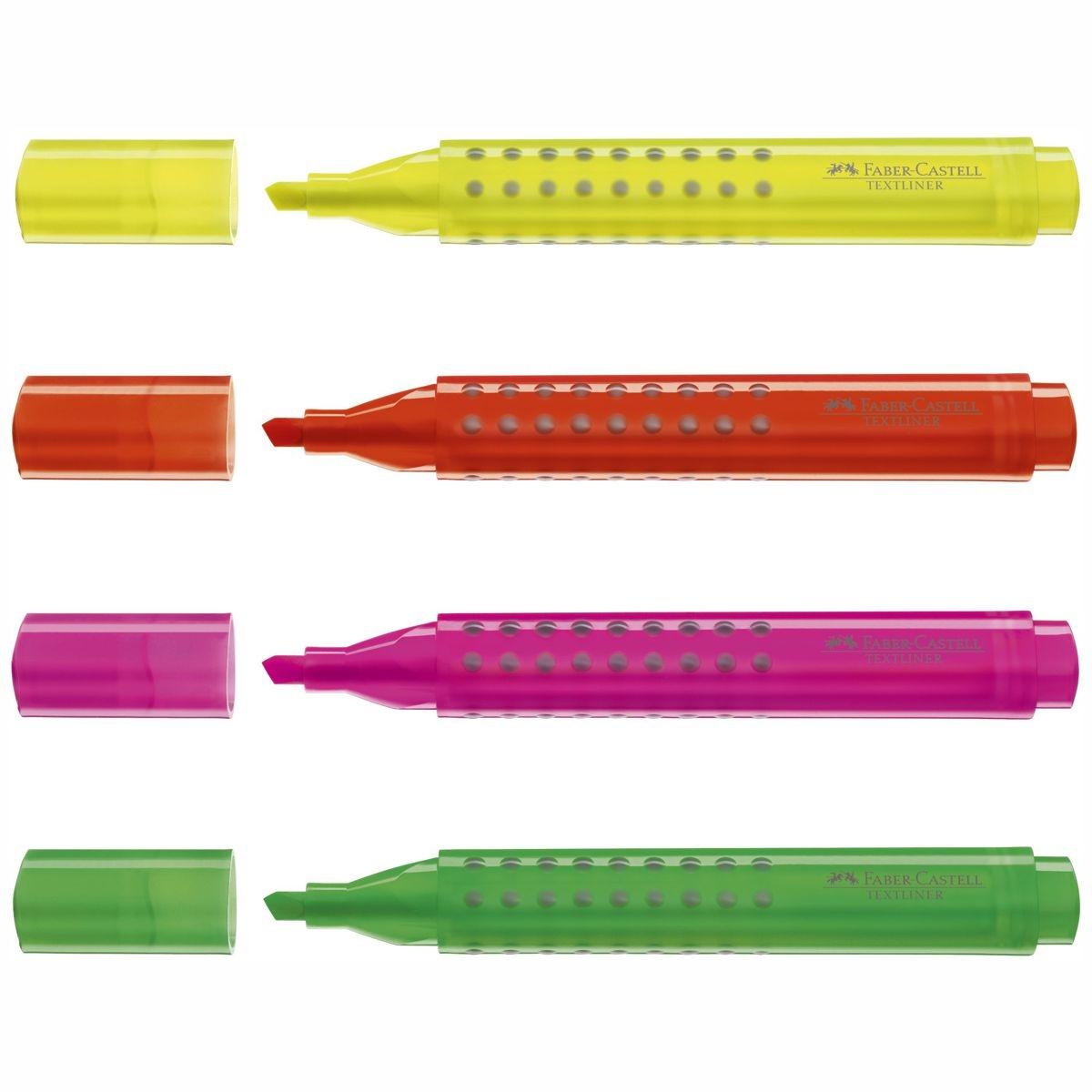 Faber-Castell Textliner 48 Refill Textmarker 1-5 mm  Marker 6 Farben wählbar