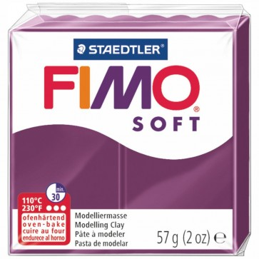 STAEDTLER Modelliermasse Fimo soft 57g 8020-66 royal violett