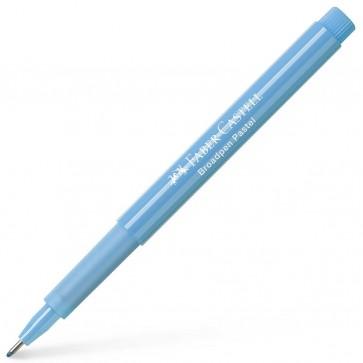 FABER CASTELL Fineliner 1554 BROADPEN 0,8mm pastell lichtblau