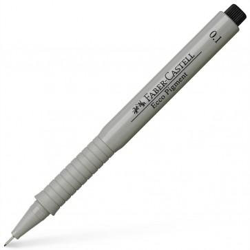 FABER CASTELL Tintenschreiber Ecco Pigment 0,1 mm schwarz