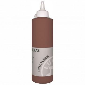 LUKAS Acrylfarbe Cryl Terzia 500ml terra di sienna gebrannt (4909)