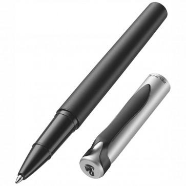 PELIKAN Tintenroller Stola II R15 matt silber / schwarz Mine schwarz