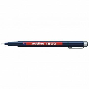 EDDING Fineliner 1800 profipen 0,1mm grün