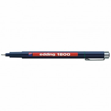 EDDING Fineliner 1800 profipen 0,7mm grün