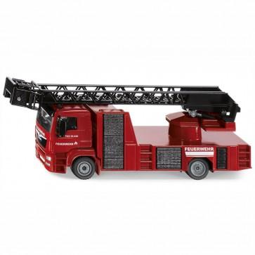 SIKU 2114 MAN Feuerwehr Drehleiter 1:50