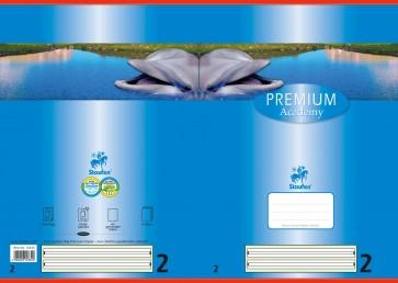 Das Bild zeigt Vorder- und Rückseite des aufgeklappten Heftes (noch 3 weitere Motive lieferbar).
