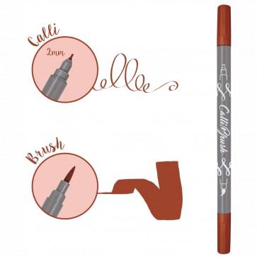ONLINE Kalligraphie- / Pinsel Stift Calli.Brush dunkelrot