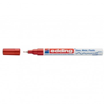 EDDING Glanz-Lackmarker creative 780 0,8mm rot