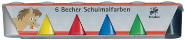 STAUFEN Schulmalfarben 91793 6 Farben