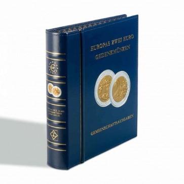 LEUCHTTURM Euro Münzalbum OPTIMA -2 Euro Gemeinschaftsausgaben-