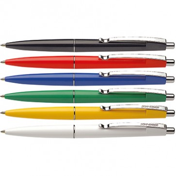 Schneider Kugelschreiber K 15 3080 mit Metallclip farbig sortiert