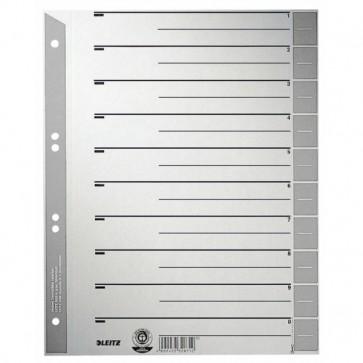 Trennblatt A4 Karton Tab grau