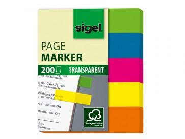 SIGEL Haftmarker HN615 Film 12x50mm 5x40 Stück