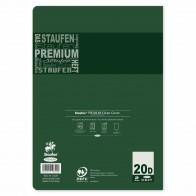 STAUFEN Premium Heft A4 32 Blatt LIN 20 blanco