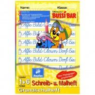 STAUFEN Staufi-Bär Lernheft / Schreib- und Malheft 12507 A5 Lineatur 1 + blanko