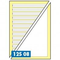 STAUFEN Staufi-Bär Lernheft / Schreib- und Malheft 12508 A5 Lineatur 2 + blanko