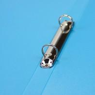 STAUFEN PP-Ringbuch A4 2-Ringe 17mm hellblau