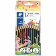 STAEDTLER Farbstifte 185 C12 SPARPACK + Radierer + Bleistift GRATIS