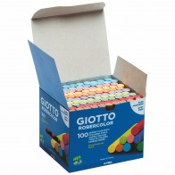 GIOTTO / LYRA Tafelkreide 5390 rund 10mm farbig bunt 100 Stück, Länge 80mm