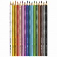 FABER CASTELL Farbstift COLOUR GRIP 2001 im Etui 12 Farben