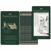 FABER CASTELL Bleistift ART Set 119064 12 Stück 5B-5H
