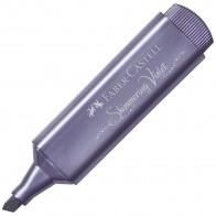 FABER CASTELL Textmarker Textliner 46 Metallic violett (shimmering violet)