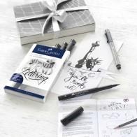 FABER CASTELL Tuschestift Pitt Pitt Artist Pen Lettering Set 9-teilig