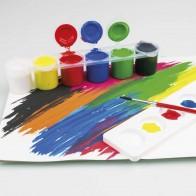 EBERHARD FABER maltertige Deckfarbe / Schulmalfarbe 13 Farben je 18ml