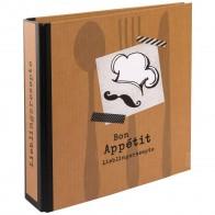 GOLDBUCH Rezeptringbuch A5 Gourmet 2-Ring mit Einlagen