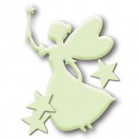 HERMA Leuchtsticker Kunststoff 15124 Sternenfee 4 Stück