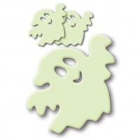 HERMA Leuchtsticker Kunststoff 15125 kleines Gespenst 3 Stück