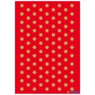 HERMA Sticker 4052 Sterne 6mm gold 3 Blatt = 285 Aufkleber