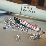 EDDING Permanentmarker 3300 gelb 1-5mm