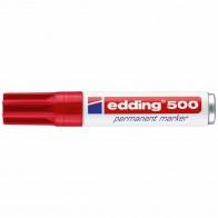EDDING Permanentmarker 500 rot 2-7mm
