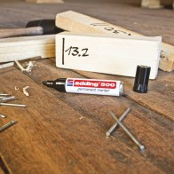EDDING Permanentmarker 500 braun 2-7mm