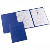 ELBA Bewerbungsmappe 36410 Job Excellent 3-teilig dunkelblau
