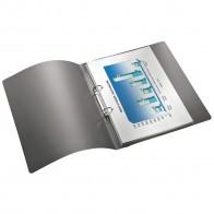 LEITZ Ringbuch Solid 456610 A4 PP 25mm 2-Ring hellrot