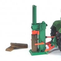 BRUDER 02339 Posch Holzspalter mit 4 Holzscheiten