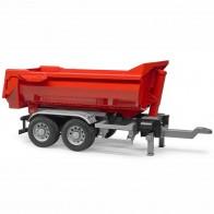 BRUDER 03923 LKW Half Pipe Anhänger