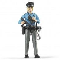 BRUDER 60430 Polizistin mit hellem Hauttyp und Zubehör