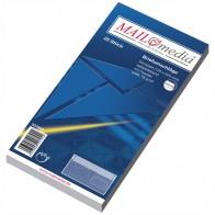 MAILMEDIA Briefumschlag Kompakt mit Fenster selbstklebend weiß 25 Stück 125x229mm