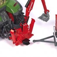SIKU 2066 Moser Heckbagger für Traktoren 1:32