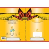 Schulheft A5 16Bl 90g Lin1 Premium farb hinterl