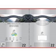 Schulheft  A4 16Bl 90g Lin22 Premium kariert