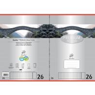 Schulheft  A4 16Bl 90g Lin26 Premium kariert mR