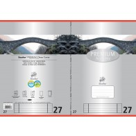 Schulheft  A4 16Bl 90g Lin27 Premium liniert mDR
