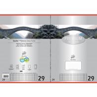 Schulheft  A4 16Bl 90g Lin29 Premium rautiert mDR