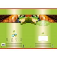 Schulheft  A4 16Bl 90g Lin3 Premium liniert