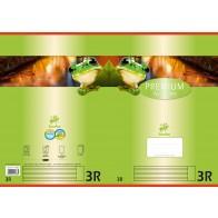 Schulheft  A4 16Bl 90g Lin3R Premium liniert mR