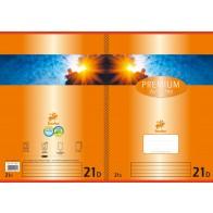 Schulheft  A4 32Bl 90g Lin21 Premium liniert